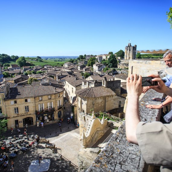 In the heart of St Emilion sunday © David Remazeilles