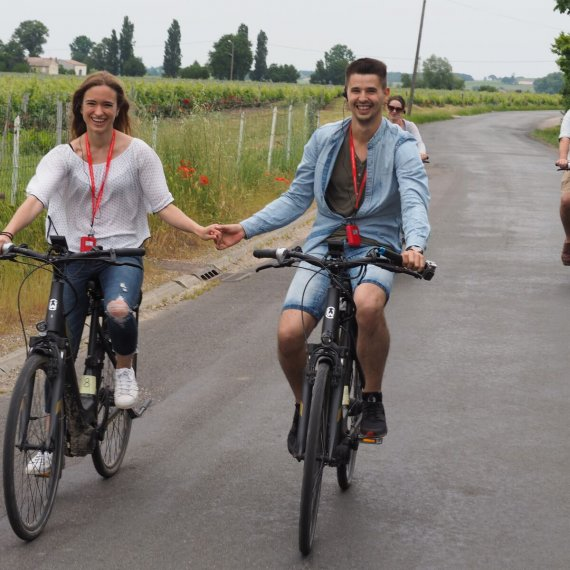 Electric bike tour in Saint Emilion - Full day